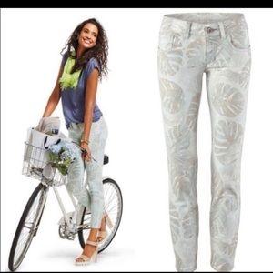 CAbi Palm Leaf pants